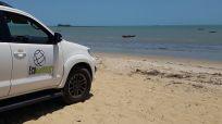 Toyotas SW4 com capacidade para 6 passageiros + motorista